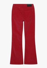 Grunt - FLARE - Spodnie materiałowe - neon pink - 1