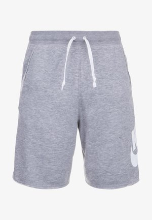 ALUMNI - Shorts - grey/white