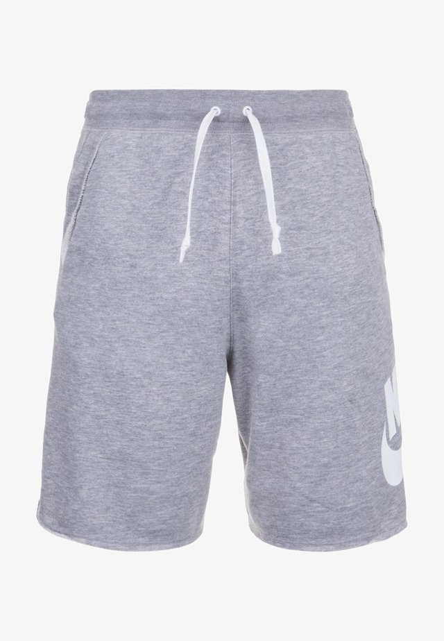 ALUMNI - Tracksuit bottoms - grey/white