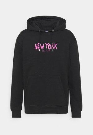 NEW YORK HOOD - Sweatshirt - black