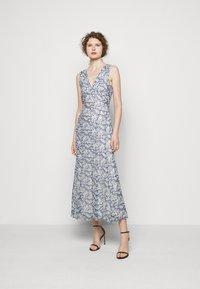 Polo Ralph Lauren - Maxi dress - blue/cream - 1