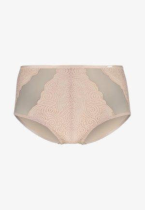 PYRAMIDE - Pants - beige dore