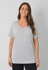 Live Unlimited London - Print T-shirt - light grey - 0