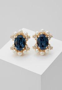 Anton Heunis - Earrings - blue/gold-coloured - 0