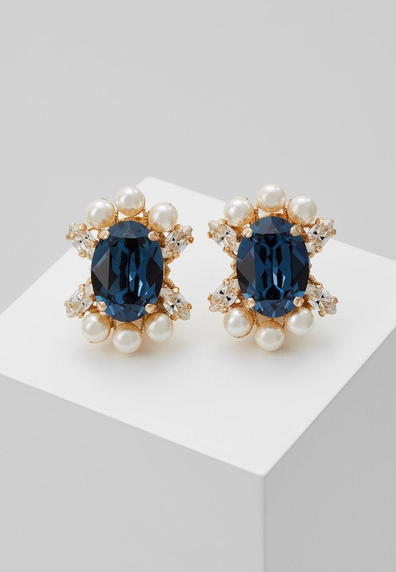 Anton Heunis - Earrings - blue/gold-coloured