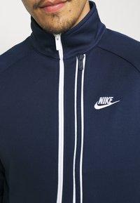 Nike Sportswear - TRIBUTE - Training jacket - midnight navy/white - 4