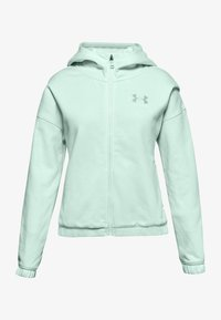 Under Armour - Zip-up hoodie - seaglass blue - 0