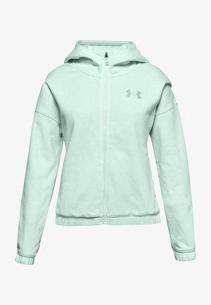 Zip-up hoodie - seaglass blue