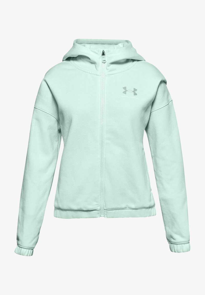 Under Armour - Zip-up hoodie - seaglass blue