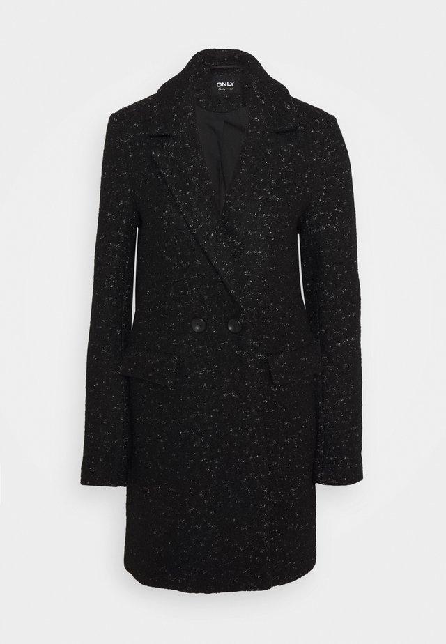ONLNEWALLY COAT - Zimní kabát - black