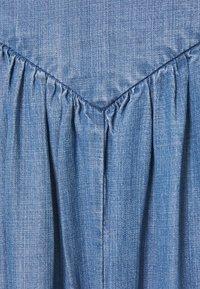 b.young - BYLANA LONG SKIRT  - Vekkihame - mid blue denim - 2