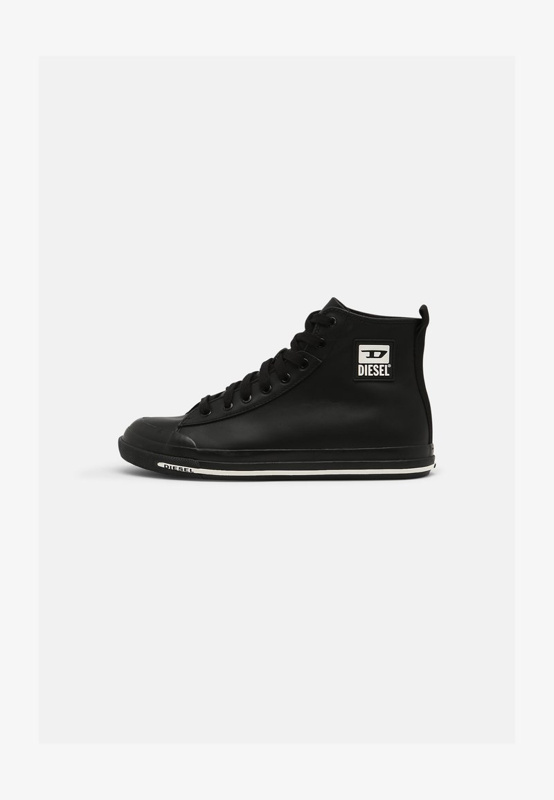 Diesel - S-ASTICO MID CUT - High-top trainers - black
