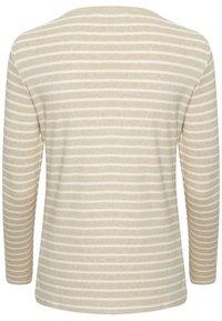 Kaffe - LIDDY - Camiseta de manga larga - brown, evergreen - 4