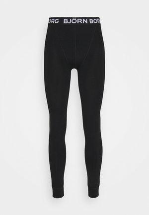 SEASONAL SOLID LONG JOHNS - Unterhose lang - black beauty