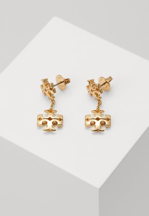 KIRA LINEAR EARRING - Pendientes - gold-coloured