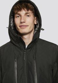 TOM TAILOR DENIM - MIT KAPUZE - Light jacket - black - 2