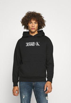 SEASONAL INSTITUTIONAL HOODIE - Sweatshirt - black