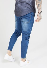SIKSILK - PATCH  - Vaqueros pitillo - washed blue - 4