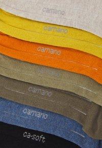 camano - ONLINE SNEAKER 7 PACK UNISEX - Socks - desert sun - 1
