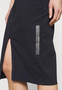 G-Star - MOCK SLIM DRESS SLEEVE - Shift dress - dark blue - 4