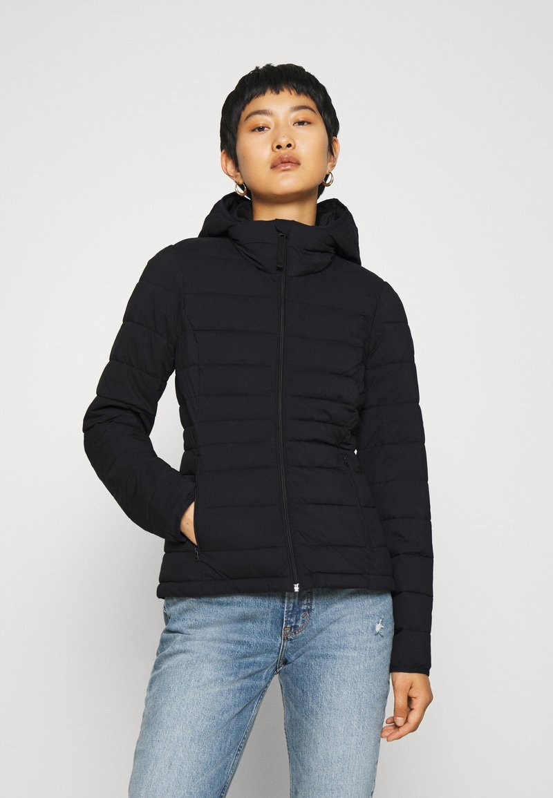 Abercrombie & Fitch - PACKABLE PUFFER POLY - Giacca da mezza stagione - black