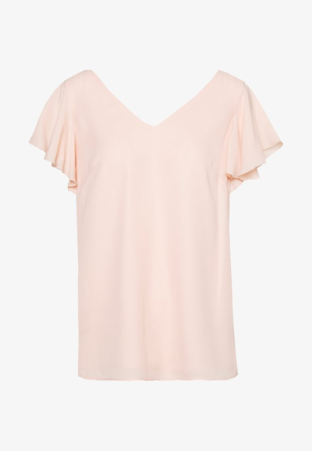 FRILL SLEEVE  - Blouse - blush