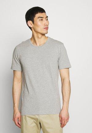 CARLO - T-shirt basic - light grey