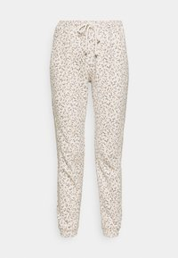 Abercrombie & Fitch - SHIRRED WAIST - Tracksuit bottoms - brown - 4