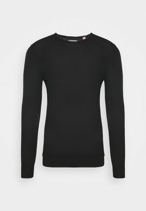 JOHS CREW NECK  - Jumper - black