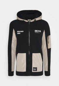 Redefined Rebel - RODNEY SWEAT - veste en sweat zippée - black - 3