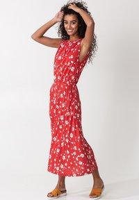 Indiska - KARLA - Day dress - red - 0