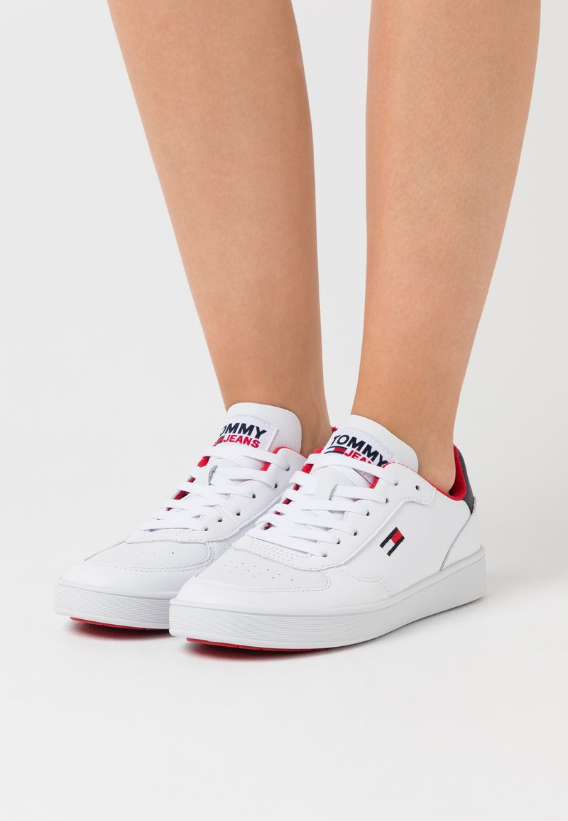 Tommy Jeans - CUPSOLE  - Joggesko - red/white/blue