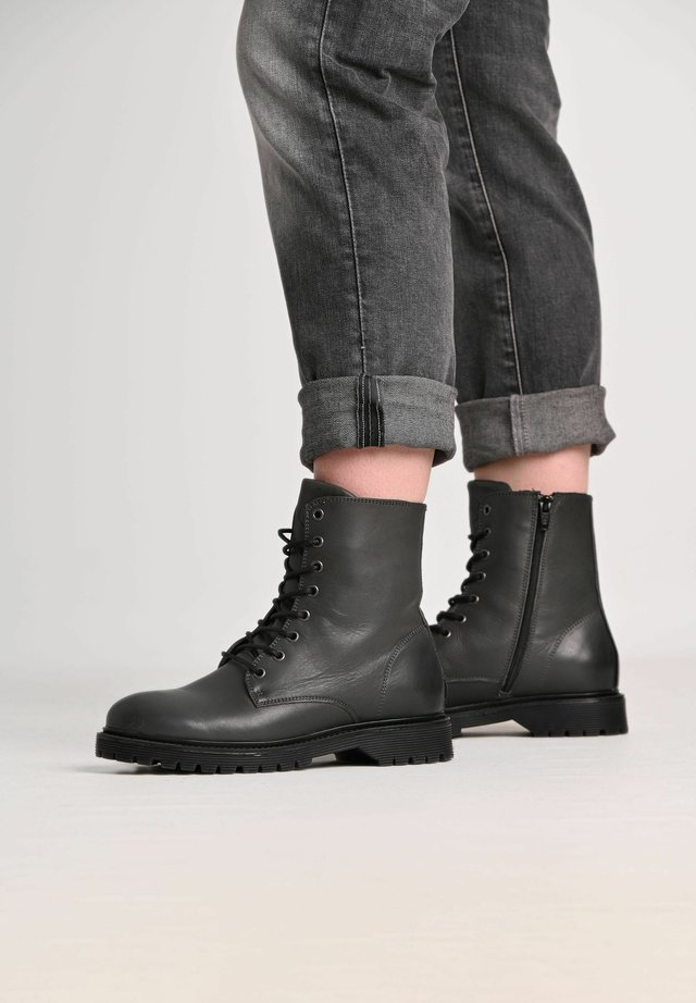 SUNNY  - Lace-up ankle boots - dark grey