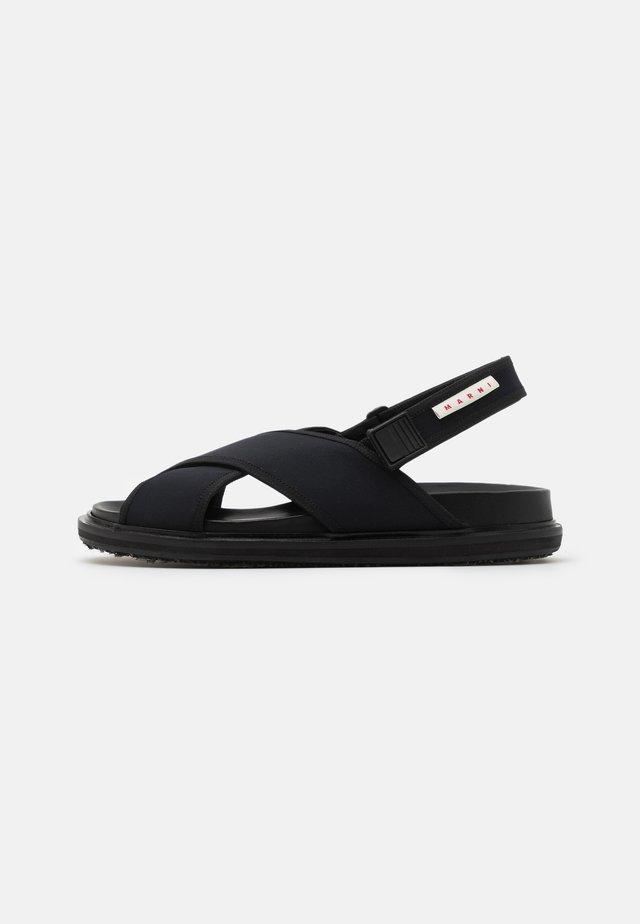FUSSBETT SHOE - Sandaler - black