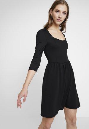 ONLMONA 3/4 DRESS - Jersey dress - black