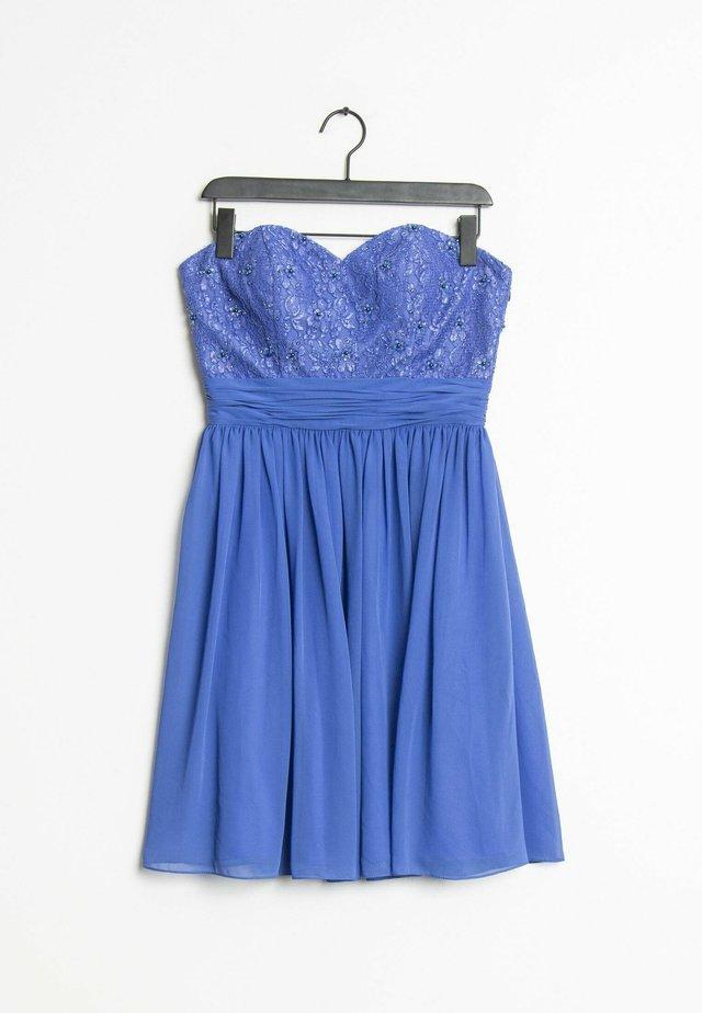 Cocktailjurk - blue