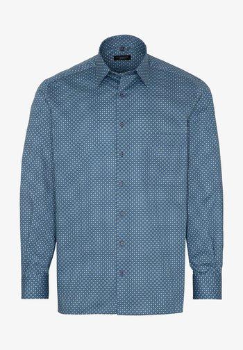 COMFORT FIT - Shirt - grün/blau