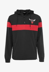 New Era - NBA WINDBREAKER CHICAGO BULLS - Article de supporter - black/front door red - 3