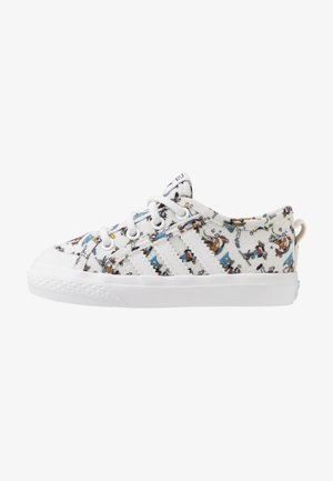 NIZZA DISNEY SPORT GOOFY - Matalavartiset tennarit - footwear white/scarle/core black