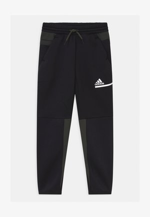 UNISEX - Tracksuit bottoms - black/legear/white