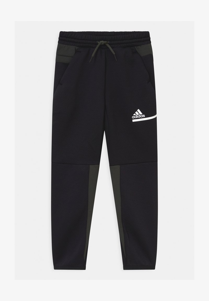 adidas Performance - UNISEX - Tracksuit bottoms - black/legear/white