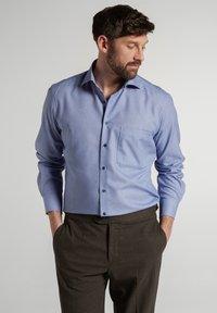 Eterna - COMFORT FIT - Shirt - blau - 0