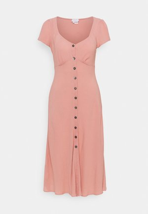 LEONA DRESS - Shirt dress - pink