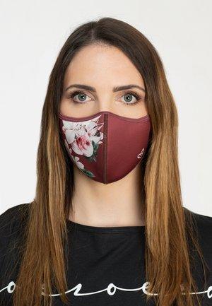 Maschera in tessuto - red wine