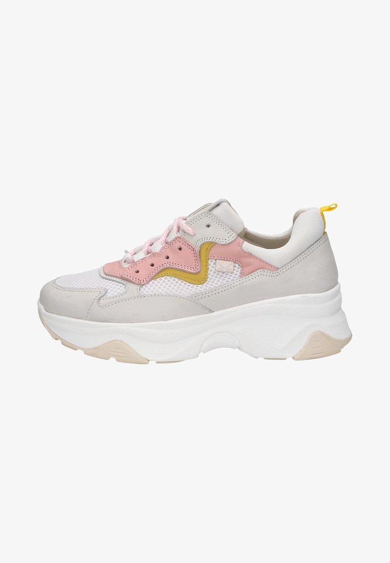 Sansibar Shoes - Sneakersy niskie - white