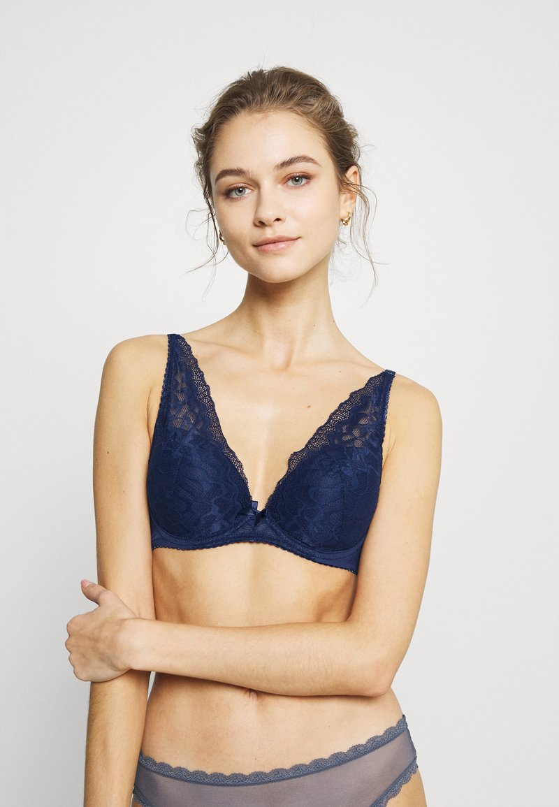 LASCANA - PADDED BRA - Underwired bra - dark blue