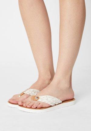 BEACH  - Flip Flops - ecru