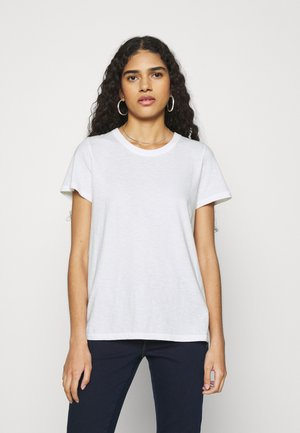 WEB ONLY CLASSIC FIT TEE - Basic T-shirt - true white