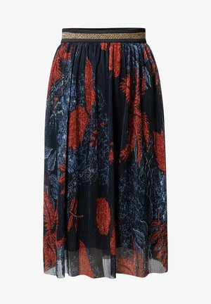 FAL_VIRGINIE - A-line skirt - blue