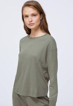Pyžamový top - khaki